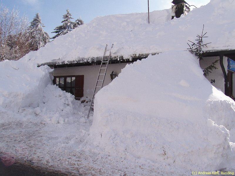 Februar 2006 Schnee Katastrophe Im Bayerwald